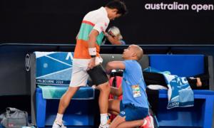Novak Djokovic 2-0 Kei Nishikori