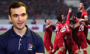 Đại diện La Liga: 'Chiến thuật chơi tấn công của Việt Nam như Barcelona'