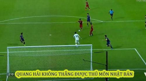 Nếu thủ môn đội bạn không xuất sắc thì Việt Nam đã có bàn thắng.