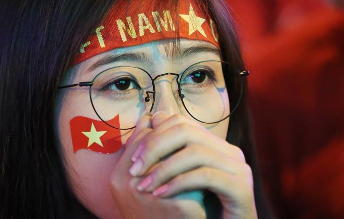 Người Sài Gòn tiếc nuối trận thua sát nút của tuyển Việt Nam