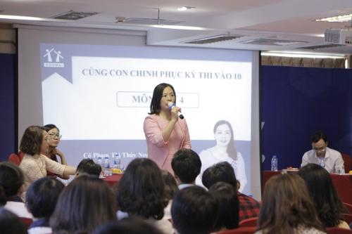 Cô Phạm Thị Thúy Ngọc - Phó hiệu trưởng trường THCS Trung Tú (Hà Nội).