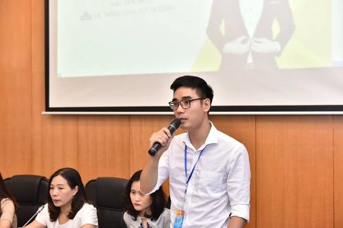 Thầy Nguyễn Quyết Thắng - Giáo viên trường Phổ thông liên cấp Đa trí tuệ.