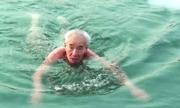 Bơi trong giá lạnh -10 độ C ở Trung Quốc