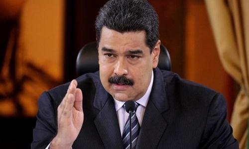 Nicolas Maduro trong một cuộc họp tại thủ đô Venezuela tháng 11/2016. Ảnh: Reuters.