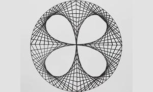 Cách vẽ trang trí sáng tạo với hình tròn