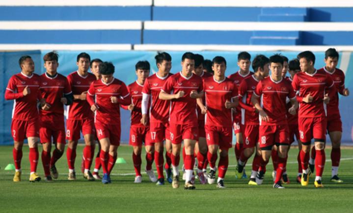 Các cầu thủ Việt Nam đã sẵn sàng cho trận tứ kết đầu tiên của giải khi đối đầu với Nhật Bản.