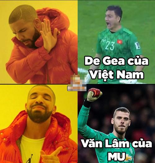 NHM thì sướng vì có một De Gea phiên bản Việt.