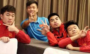 Khoảnh khắc vui nhộn của tuyển Việt Nam tại Asian Cup 2019
