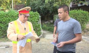 Phát hiện và đình chỉ 3 lái xe dương tính với ma túy tại Điện Biên