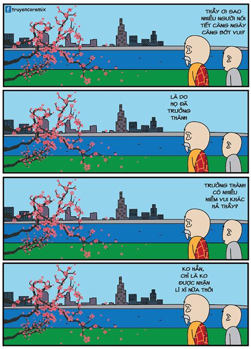 Tại sao càng lớn Tết càng kém vui?