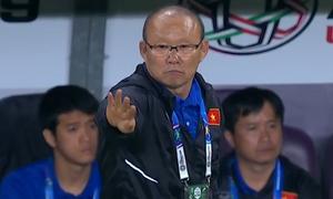 Khoảnh khắc vui nhộn của HLV Park Hang-seo ở Asian Cup 2019