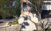 Đặt hình nộm cảnh sát cầm máy bắn tốc độ để doạ tài xế