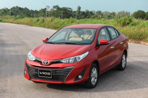 Toyota Vios 2018 tại Việt Nam.