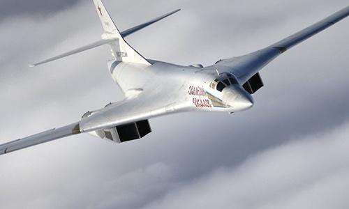 Máy bay ném bom Tu-160. Ảnh: Russian Defense Ministry.