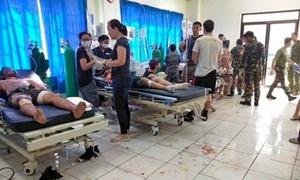 Đánh bom kép tại nhà thờ của Philippines, ít nhất 21 người chết