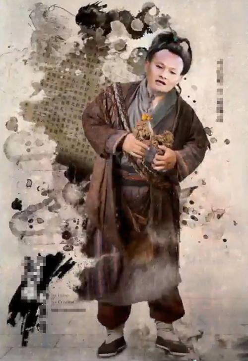 Trọng Hoàng vào vai Chu Bá Thông.