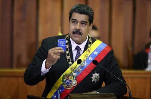 Tổng thốngVenezuela Nicholas Maduro. Ảnh: AVN.
