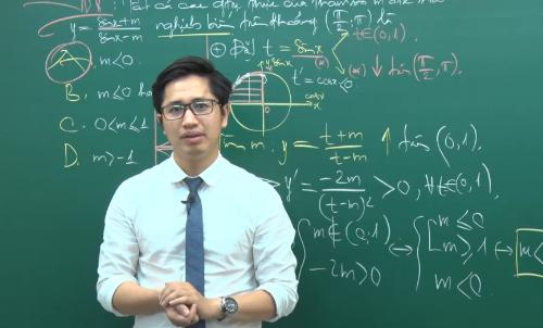 Thầy Nguyễn Thanh Tùng - Giáo viên luyện thi môn Toán.