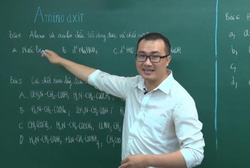 Thầy Nguyễn Ngọc Anh - Giáo viên luyện thi môn Hóa học tại Hệ thống Giáo dục Hocmai.vn.