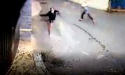 Nhà của người đàn ông ở Vũng Tàu bị tạt sơn khủng bố