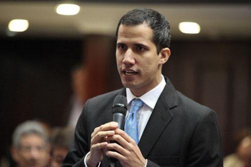Lãnh đạo phe đối lập Venezuela Juan Guaido. Ảnh: AP.