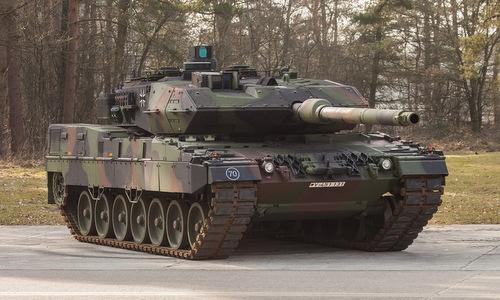 Xe tăng Leopard 2A7 trong biên chế quân đội Đức. Ảnh: Wikipedia.