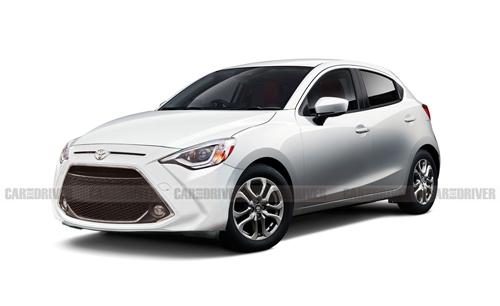 Xe trong ảnh là hình dung của tờ Car and Driver về Toyota Yaris hatchback 2020.