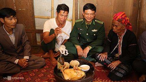 Từ 2019, ngoài tết cơm mới, người dân A Dơi Đớ còn đón thêm tết cổ truyền Việt.Ảnh:Hoàng Táo