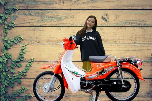 Xe Espero Cup 50cc nổi tiếng với sự tiết kiệm nhiên liệu chỉ 1,5l/100km