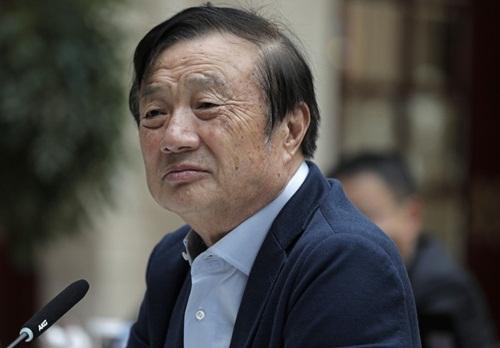 Nhà sáng lập Huawei Nhậm Chính Phi. Ảnh: AP.