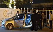 Tài xế taxi bị cứa cổ tử vong trước sân vận động Mỹ Đình