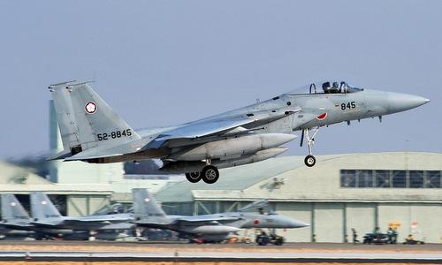 Tiêm kích F-15 Nhật Bản. Ảnh: JASDF.