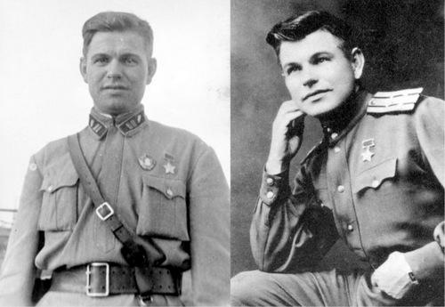 Polovchenya sau khi được trao danh hiệu Anh hùng Liên Xô. Ảnh: RBTH.