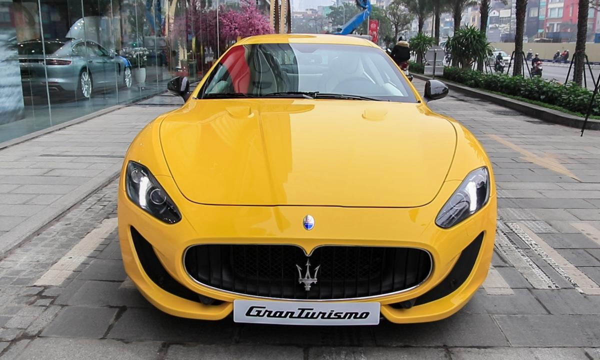 Maserati GranTurismo - hàng độc Italy giá 12 tỷ tại Việt Nam