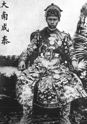 Vua Thành Thái. Ảnh tư liệu