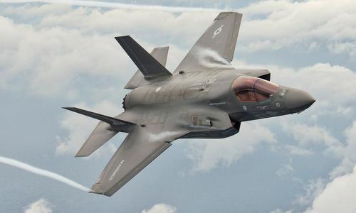 Tiêm kích F-35B của thủy quân lục chiến Mỹ. Ảnh: Lockheed Martin.