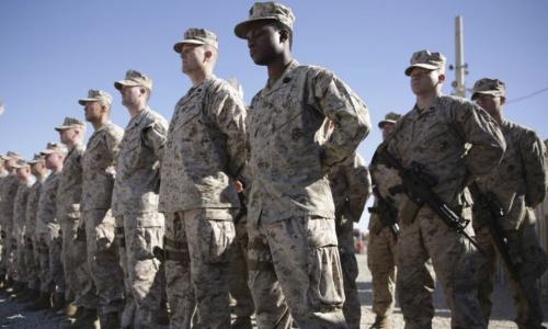 Lính Mỹ ở Afghanistan. Ảnh: AP.