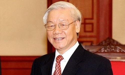 Tổng bí thư, Chủ tịch nướcNguyễn Phú Trọng. Ảnh: TTX