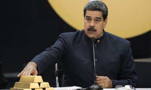 Tổng thống Venezuela Maduro trong cuộc họp về kinh tế hồi tháng 3/2018. :Nh: AP.