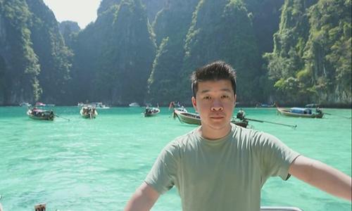 Vinh Vu, người Mỹ gốc Việt, bị cướp đánh liệt người. Ảnh: KTVU.