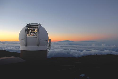 Kính viễn vọng Pan-STARRS 1 đặt tại Maui, Hawaii. Ảnh: Hubblesite.