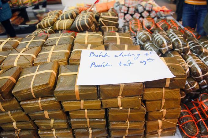 Chợ người Việt ở Đức tấp nập sát Tết