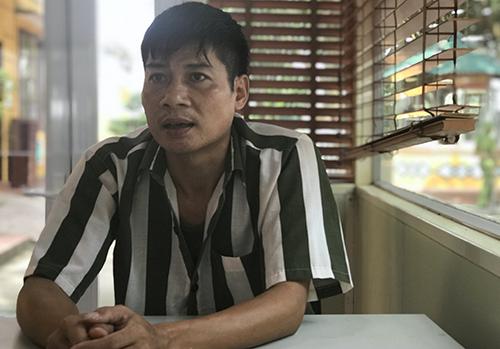 Bị án Nguyễn Văn Tuấn. Ảnh: Phạm Dự.