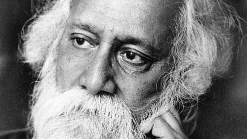 Thi hào Rabindranath Tagore. Ảnh: Indoindians.