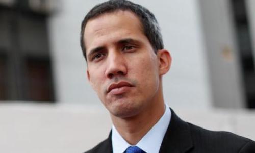 Tổng thống tự phong củaVenezuela Juan Guaido. Ảnh: Reuters.