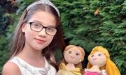 Cô bé bị cận kêu gọi Disney tạo nhân vật công chúa đeo kính