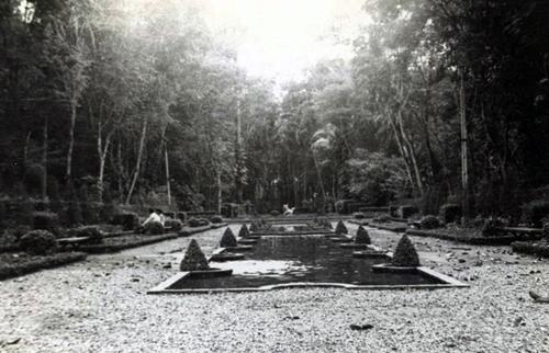 Công viên Tao Đàn thời Pháp thuộc. Ảnh tư liệu
