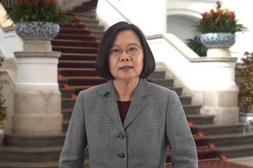 Bà Thái Anh Văn phát biểu mừng năm mới âm lịch 2019 hôm 3/2. Ảnh: Facebook.