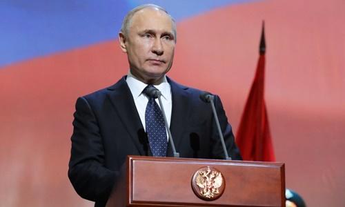 Putin chúc mừng năm mới phật tử ở Nga