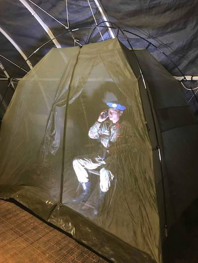Bác sĩ Việt Nam trực đêm ở Nam Sudan.